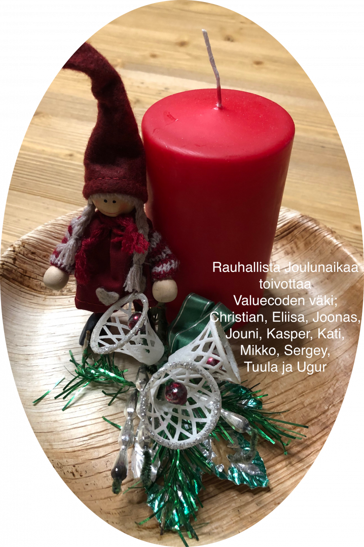 Hyvää Joulunaikaa